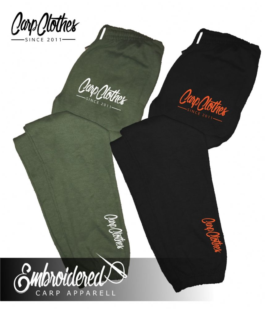 010 EMBROIDERED CARP JOGGERS